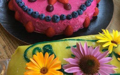 Skolstart med tårtkalas