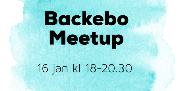 Backebo Meetup 2019